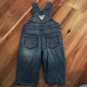 OshKosh B'gosh Bottoms - Fleece-lined osh-kosh overalls